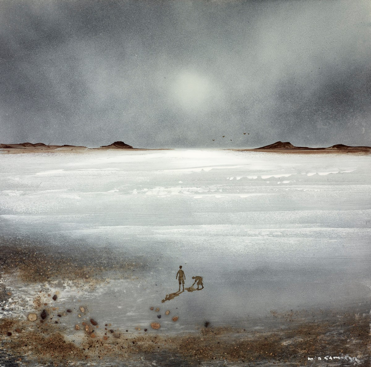 Secret Shadows V by mia cameron -  sized 12x12 inches. Available from Whitewall Galleries